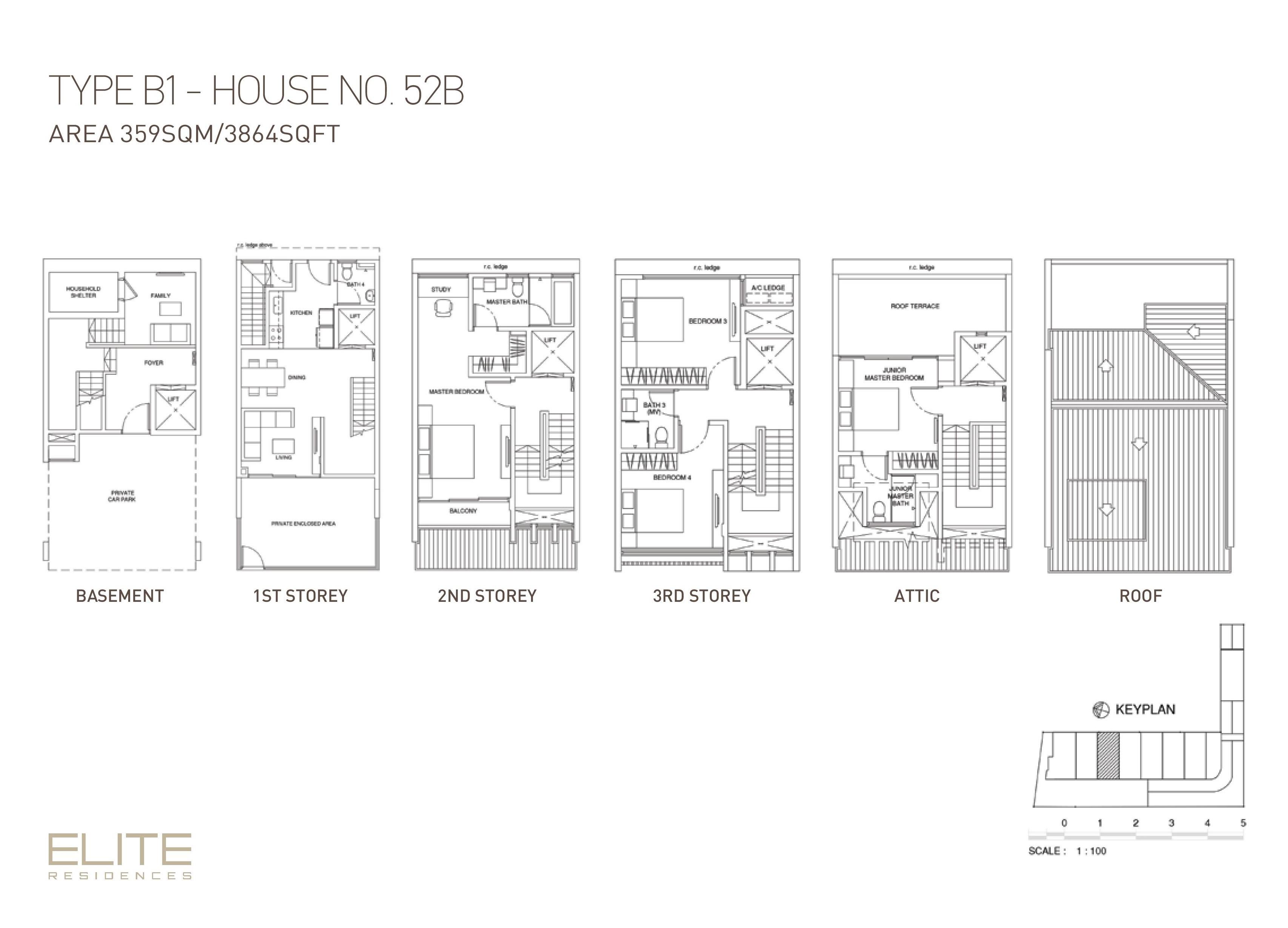 House 52b elite residences for Elite house plans